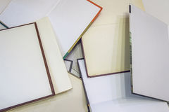 Many open books Stock Photography