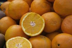 Many oranges Stock Photos