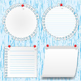 Many pad note Stock Images