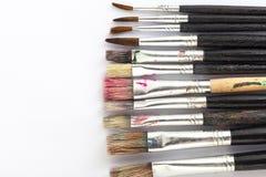 Many paint brushes Royalty Free Stock Image