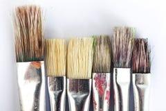 Many paint brushes Royalty Free Stock Photography