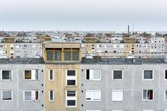 Many panel apartments Royalty Free Stock Photos
