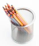 Many pastel crayons Royalty Free Stock Image
