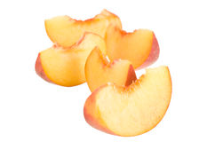 Many peaces of peach many peaces of peach many peaces of peach Royalty Free Stock Photos
