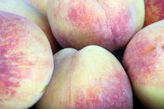 Many of peach fruit Royalty Free Stock Photos