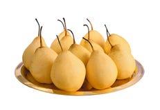 Many pears Stock Photos