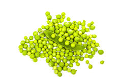 Many peas in a pod  grains Royalty Free Stock Images