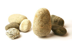 Many pebbles Stock Photography