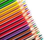 Many pencils with copyspase Stock Image