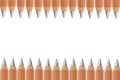 Many Pencils isolated on white Royalty Free Stock Image
