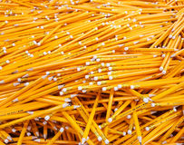 Many pencils piled in a big pile Stock Photos