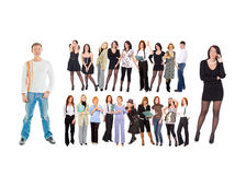 Many people Royalty Free Stock Images