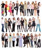 Many people Stock Images