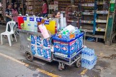 Many people shopping at chatuchak market Stock Photos