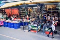 Many people shopping at chatuchak market Stock Photography