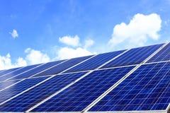 Many photovoltaic cells Royalty Free Stock Photos