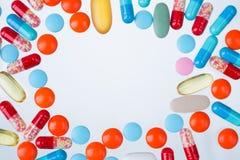 many pills Στοκ Φωτογραφία