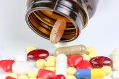 Many pills Royalty Free Stock Image