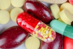 Many pills Royalty Free Stock Photos