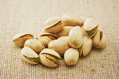 Many pistachios Royalty Free Stock Photography