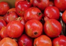 Many pomegranate fruits Royalty Free Stock Photos