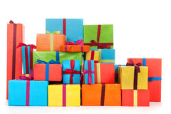Many presents Royalty Free Stock Photo