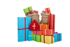 Many presents Stock Image