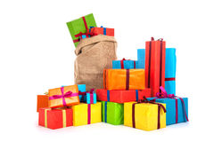 Many presents Royalty Free Stock Images