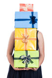Many presents Stock Photography