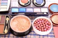 Many professional cosmetics Royalty Free Stock Photo