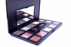 Many professional cosmetics for make up. The Many professional cosmetics for make up Royalty Free Stock Images