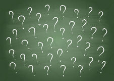 Many questions Royalty Free Stock Images