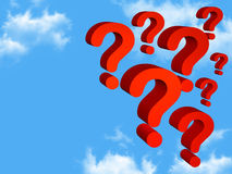 Many questions Stock Photos