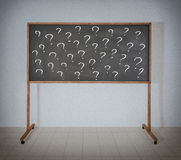 Many questions Stock Images