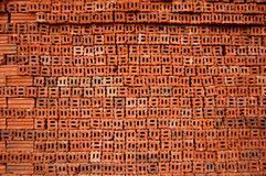 Many red brick . Royalty Free Stock Image