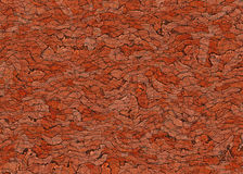 Many red cobblestone road backgrounds Royalty Free Stock Photos