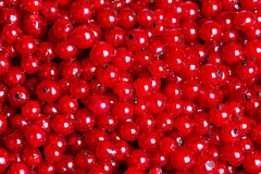 Many red currants as a texture Stock Photo