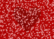 Many red hearts on a love backgrounds Stock Image