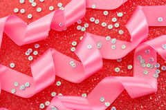 Many ribbons Stock Image