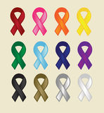 Many Ribbons Royalty Free Stock Image