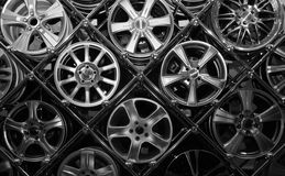 Many Rims Stock Images