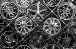 Many Rims Stock Photo