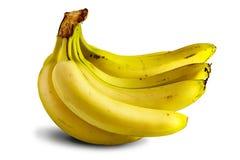 Many ripe bananas lie Royalty Free Stock Photo