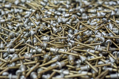 Many rivets Royalty Free Stock Images