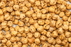Many roasted chickpeas Royalty Free Stock Images