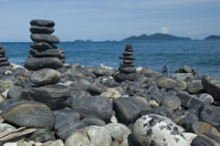 Many Rocks In Island Royalty Free Stock Photography
