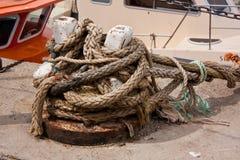 Many ropes Royalty Free Stock Photo
