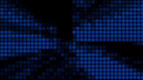 Many rows of balls changing color - modern abstraction, computer generated background, 3D render. Ing vector illustration