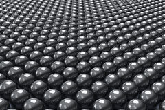 Black balls background Royalty Free Stock Photos