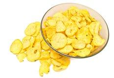 Many ruffles chips Royalty Free Stock Image